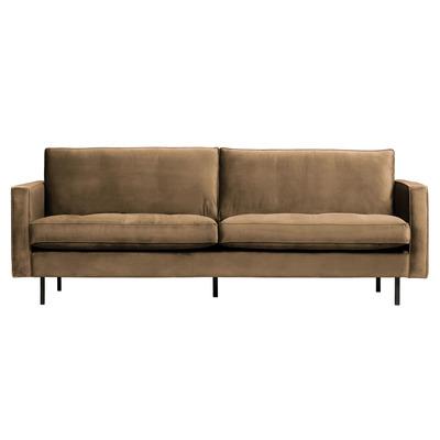 2,5 Seater Sofa Rodeo Classic Velvet | Taupe