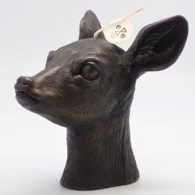 Candle Deer Black | Vanilla & Caramel