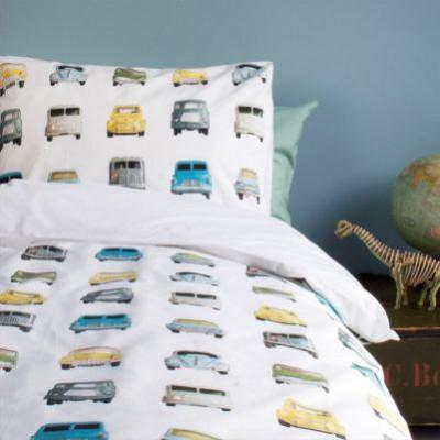 Einzelbett-Deckenbezug | Autos