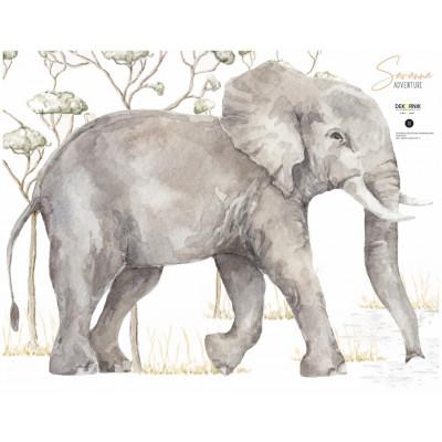 Wandaufkleber   Elefant