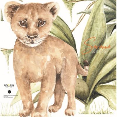 Wandaufkleber   Kleiner Löwe