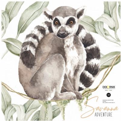 Wandaufkleber   Lemur