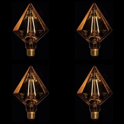 LED Lamps Set of 4 | Diamond