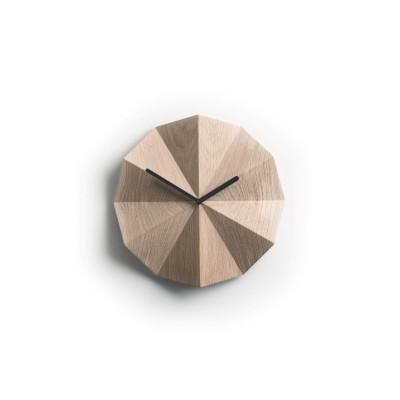 Delta Clock | Oak