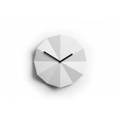 Delta Clock | White