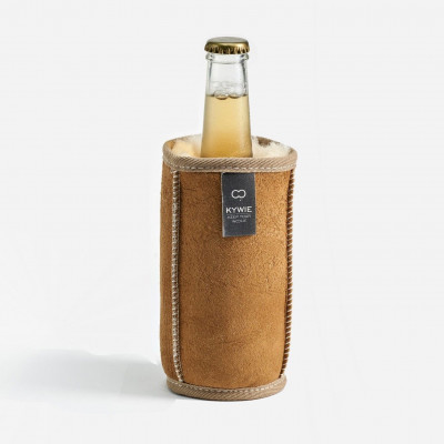 Durable Demi Cooler of Wool   Camel
