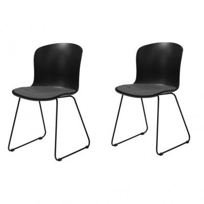 2er-Set Stuhl Tale | Schwarz