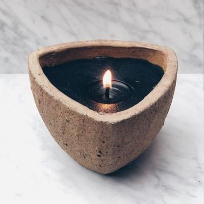 Desert Outdoor Candle   Brown