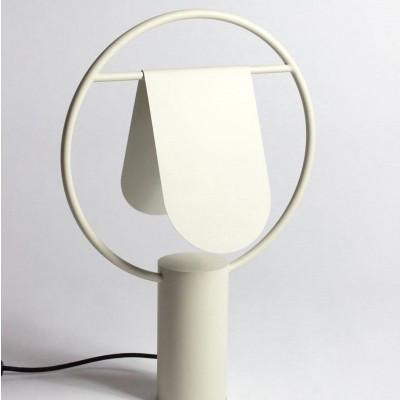 Standing Lamp Rotating Lampshade  Ivory