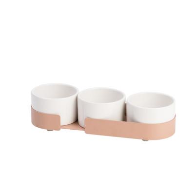 3er-Set  Keramikbehältern Big Hug | Pink