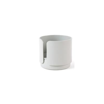 2er-Set Teelichthalter Big Hug | Grau