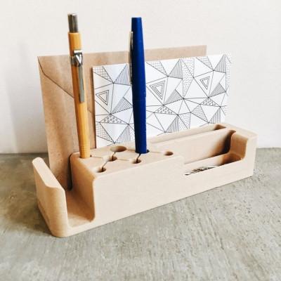 Wooden Desk Organizer Coco