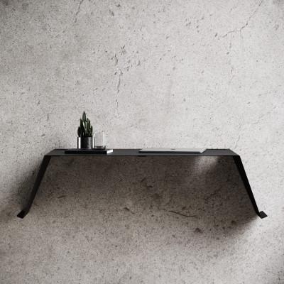 Wandschreibtisch Schreibtisch 01 | Schwarz