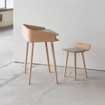 TonTon Schreibtisch & Stuhl Sky Blue