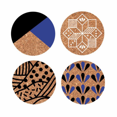 Désertique Drink Coasters | Blue