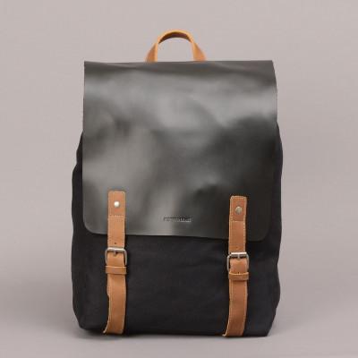 Devon Backpack   Black & Brown