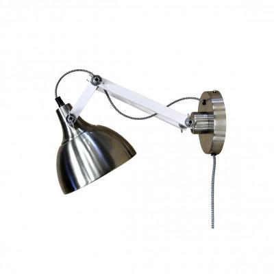 Wall Lamp Dexter | Metal & White