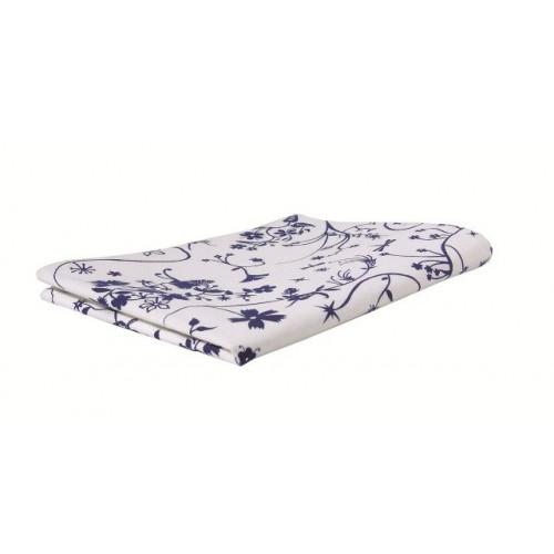 "Table Cloth ""Reindeer World"" Blue"