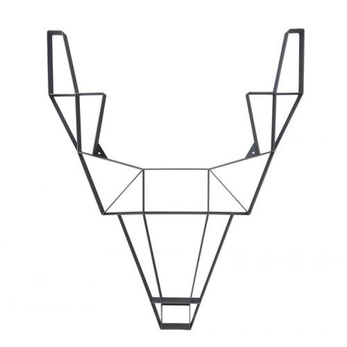 Shelf Metal Deer Large | Black