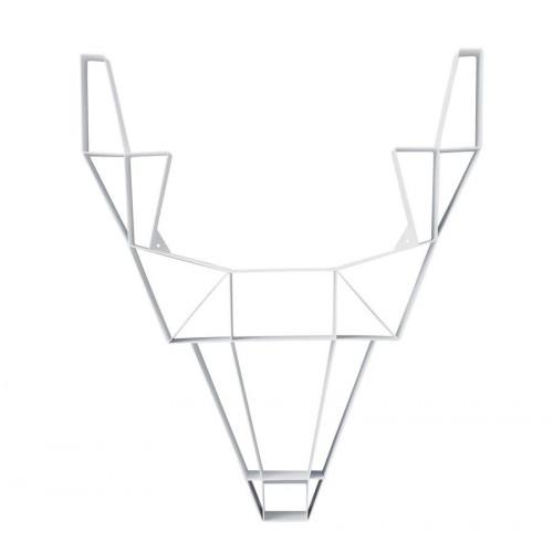 Shelf Metal Deer  Large | White
