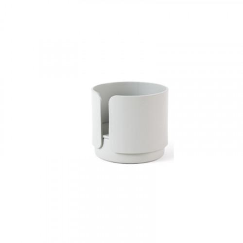2er-Set Teelichthalter Big Hug   Grau