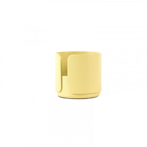 2er-Set Teelichthalter Big Hug | Gelb