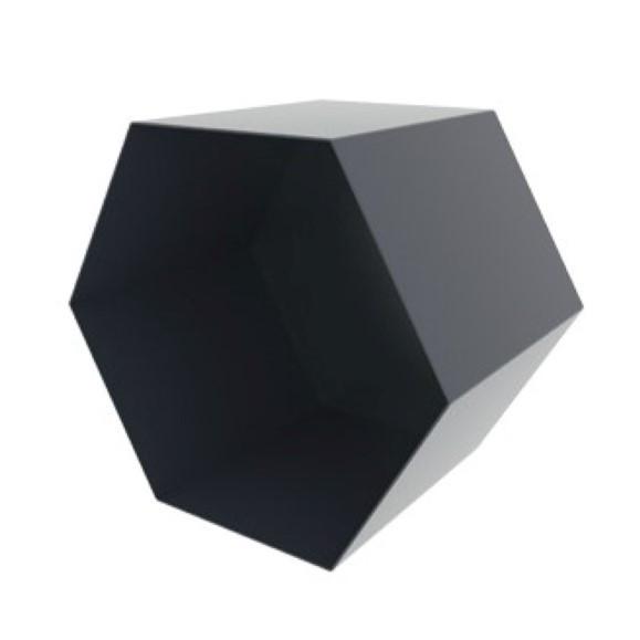 Box Hexagon | Midnight Blue