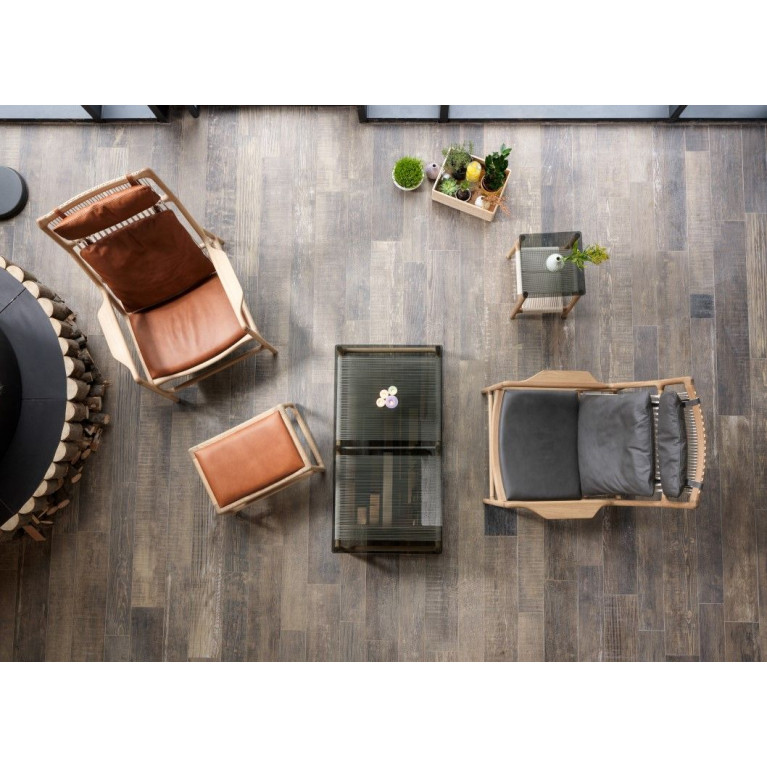 Footstool Dedo Leather