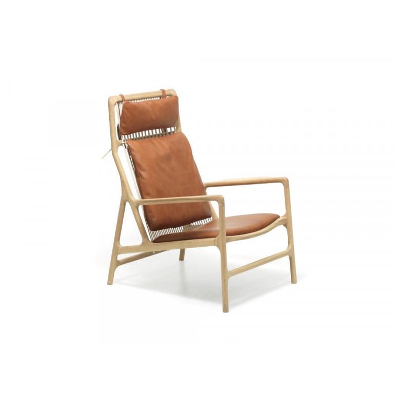 Lounge Chair Dedo Leder