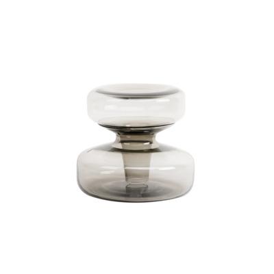 Duo Carafe/Vase Host Small | Smoke Grey