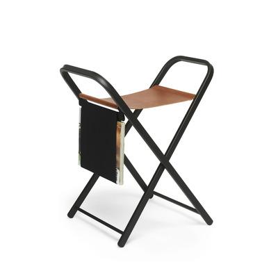 Klappbare Stuhl Support | Braun und Schwarz