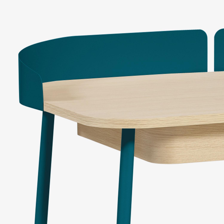 Tisch Victor | Blau