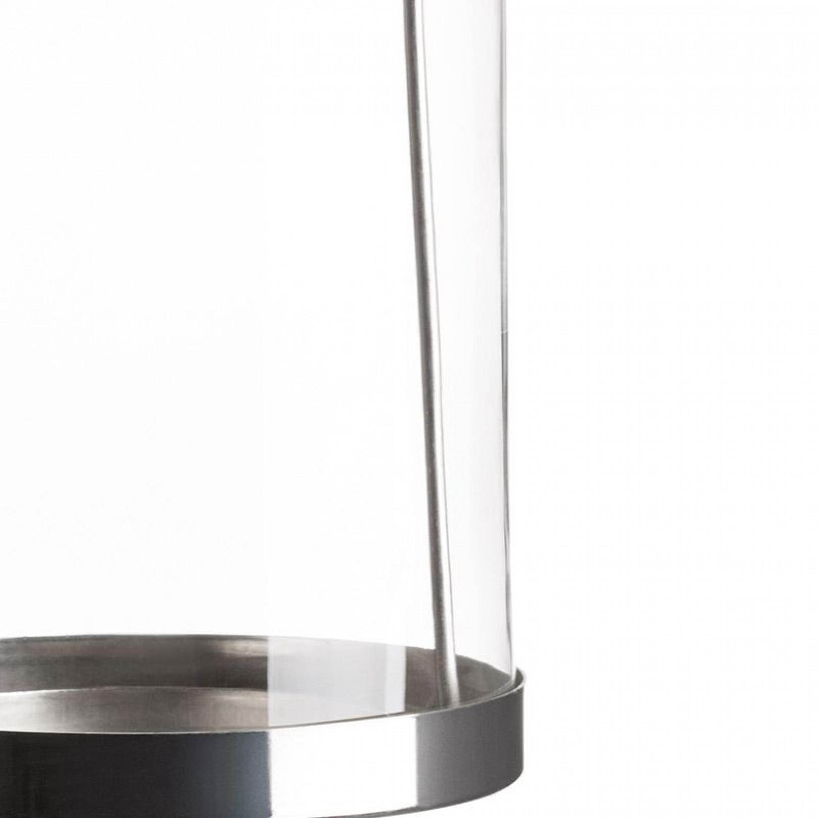 Glas-Hängekerzenhalter   Laterne Ø 11 cm x 24,8 cm
