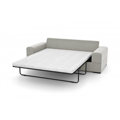 3-Sitzer-Sofabett Dasha | Hellgrau