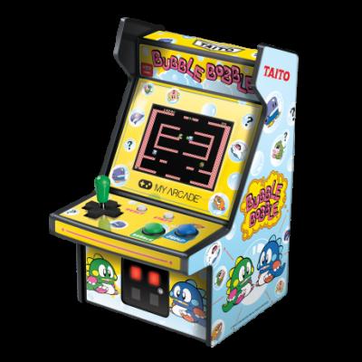 Mini Retro Arcade Machine Micro Player | Bubble Bobble