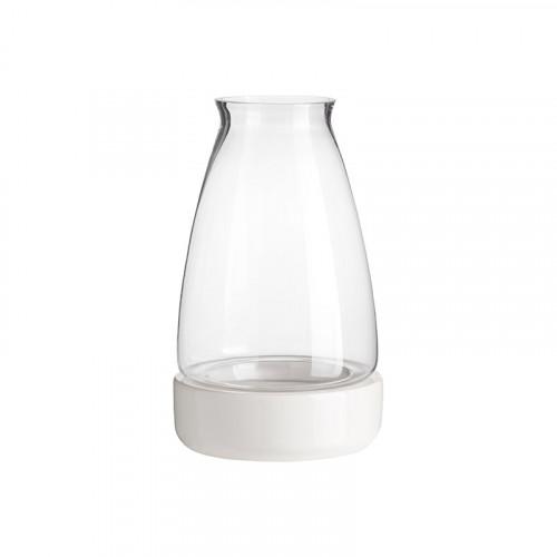 Keramik-Kerzenhalter Cyclades | Weiß