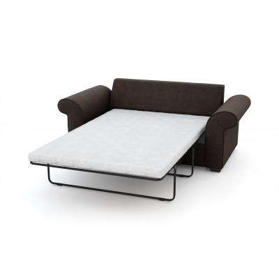 2-Sitzer-Schlafsofa Ivy | Braun