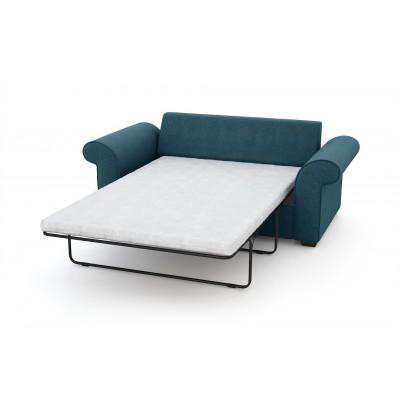 2-Sitzer-Schlafsofa Ivy | Türkenblau