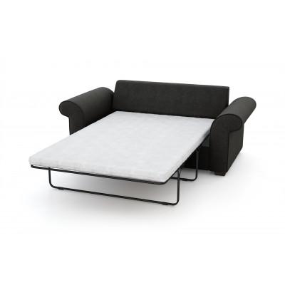 2-Sitzer-Schlafsofa Ivy | Anthrazit