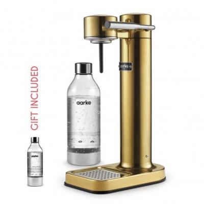 Hersteller von Sprudelwasser + Geschenk: 1 Aarke-Flasche   Messing