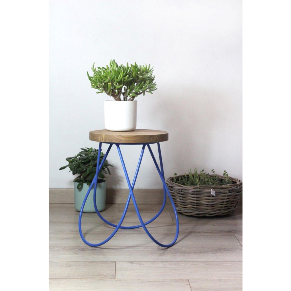 Disco-Tabouret | Blau