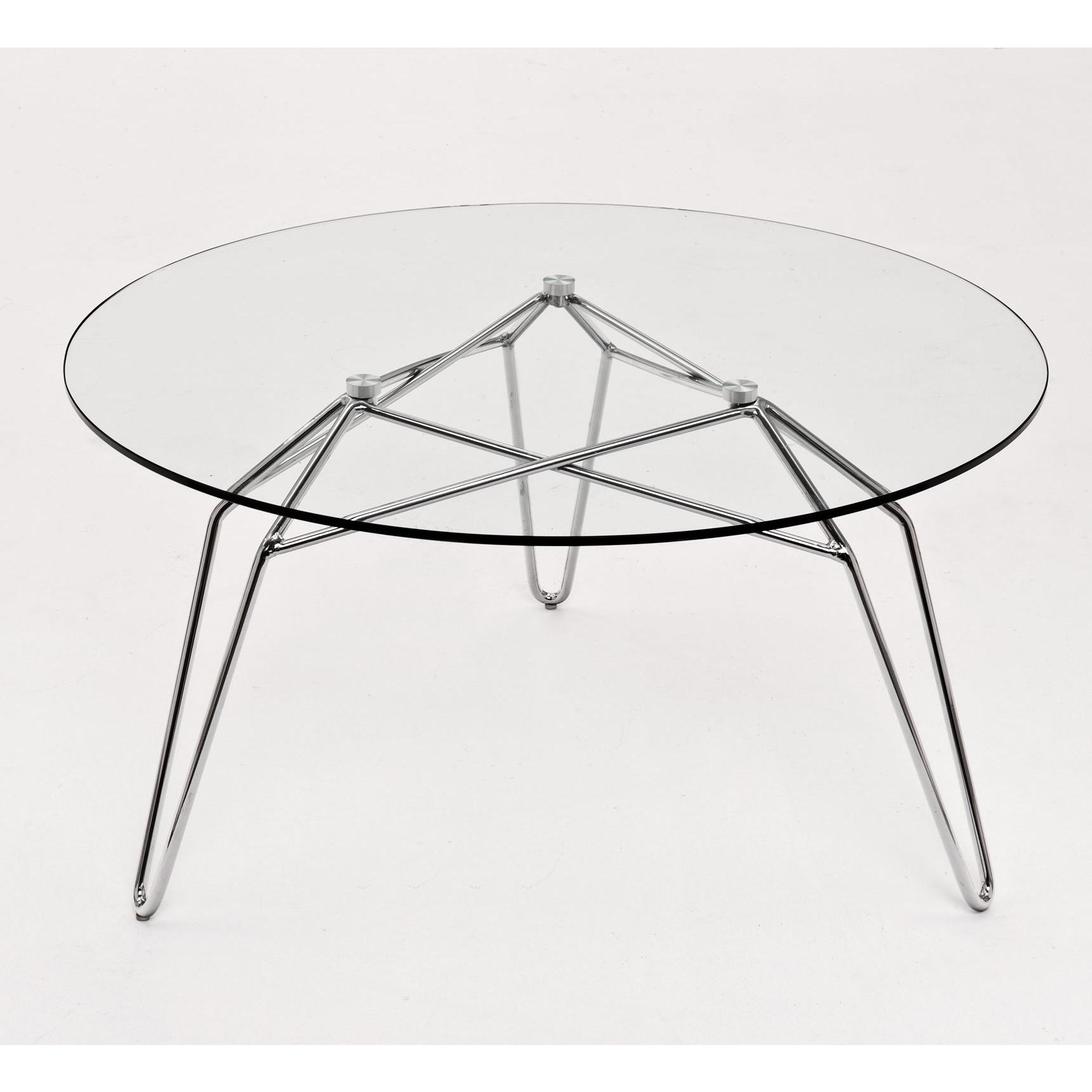 Diamond Coffee Table | Chrome