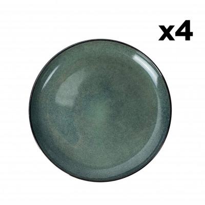 Teller Hamuza Azul Ø 27 cm 4er-Set | Blau