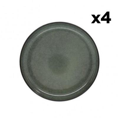 Teller Hamuza Azul Ø 19 cm 4er-Set | Blau