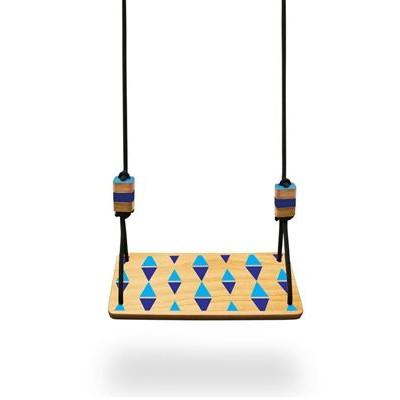 Gartenschaukel Sitz Diamond Drops | Blau