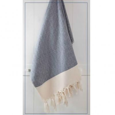 Handtuch Diamant   Schwarz