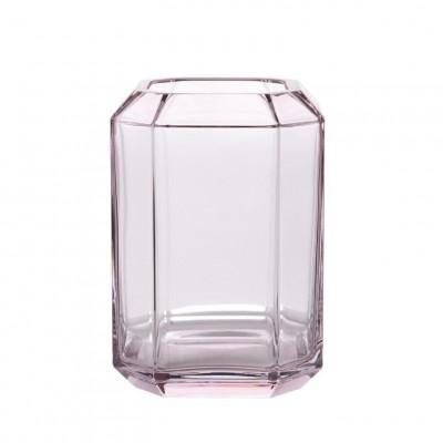 Jewel Vase Large | Rose