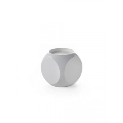 Dice Candle | White Ghost Diamond