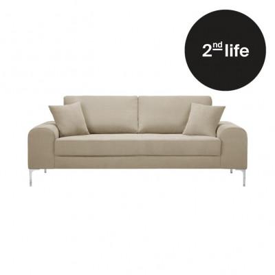2tes Leben   3-Sitzer-Sofa Dillinger   Beige