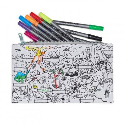 Bleistifttasche | Dinosaurier